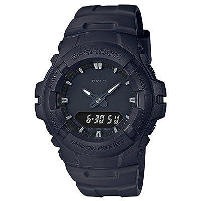 ブラック メンス アナログ - デジタル スポーツ クォーツ Casio 時計 Gショック 海外出荷 G-100bb-1a