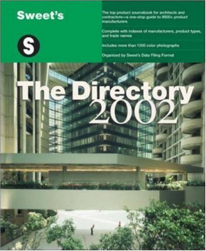 Sweet'S: The Directory - 2002