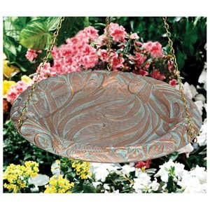 Whitehall Products Butterfly Hanging Birdbath