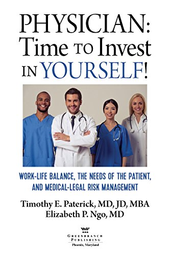 Physician: Time to Invest in Yourself: Work-Life Balance, the Needs of the Patient, and Medical-Legal Risk Management