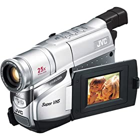 JVC GR-SXM37U Compact S-VHS Camcorder w/25x Optical Zoom