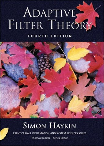 Adaptive Filter Theory (Hardcover, 2001) 4th EDITION