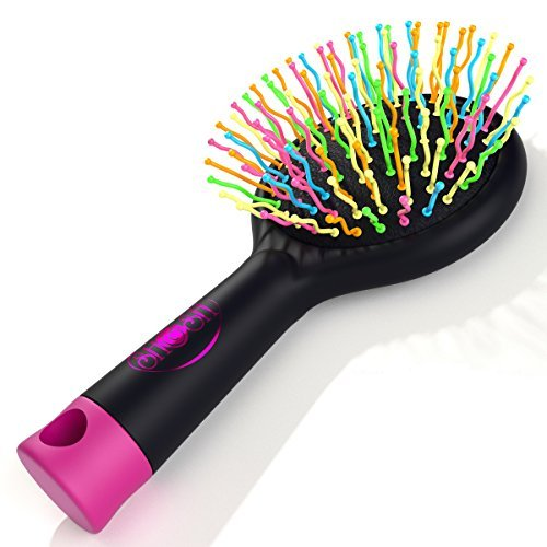 letmeshine-detangling-brush-with-mirror-no-tangle-pain-anti-static-soft-bristle-massaging-straighten