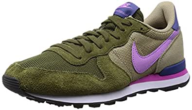 nike internationalist damen sneakers khaki gr e. Black Bedroom Furniture Sets. Home Design Ideas
