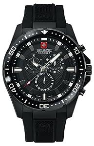 Swiss Military Hanowa Herren-Armbanduhr XL Analog Quarz Plastik 06-4212.27.007.07