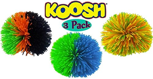 Best Price Koosh Balls Multi-Color Gift Set Bundle - 3 Pack