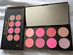 Makeup Revolution Blush and Contour Palette All about Pink, 13g