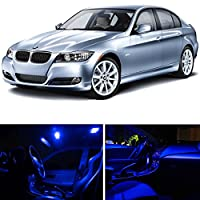 Ledpartsnow Bmw 3 Series E90 E92 M3 2006-2012 Blue Premium Led Interior Lights Package Kit 14 Pieces from LEDpartsNow