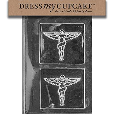 Dress My Cupcake DMCG041 Chocolate Candy Mold, Chiropractic Insignia from Dress My Cupcake