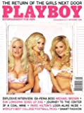 Playboy Magazine, September 2006