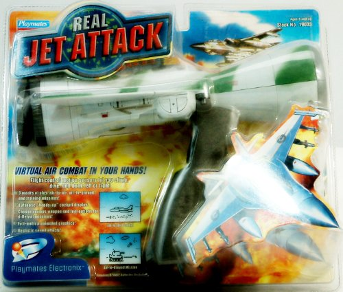 Real Jet Attack Virtual Air Combat Handheld Game