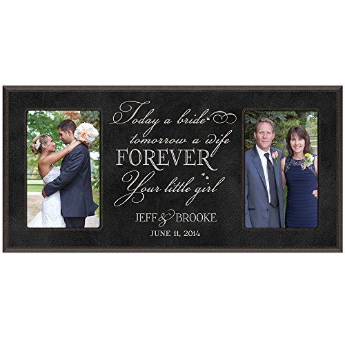 Wedding Gift ,Wedding Photo Frame, Personalized wedding gift , Personalized wedding picture frame gift for Bride and Groom, Personalized wedding gift for parents, Mom and Dad thank-you gift