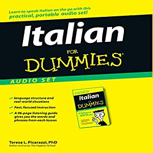Italian For Dummies Audiobook