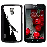 Smartphone Protective Case Hard Shell Cover for Cellphone LG Optimus L7 II P710 L7X P714 CECELL Phone case Electric Guitar Minimalist B W