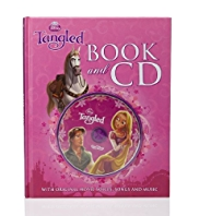 Disney Princess Tangled Book & CD
