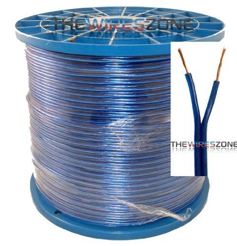 Blue 16 Gauge 1000 Feet Speaker Wire For Home/Car Audio