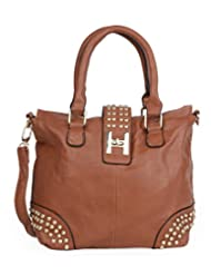 ADISA B0636 BROWN Womens PU Handbag