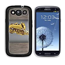 buy Msd Samsung Galaxy S3 Aluminum Plate Bumper Snap Case Saxophone Vintage For Text On Grunge Background Image 19337423