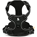 PetsUp Imported Ultra Premium Soft, Front Range No-Pull Dog Harness Easy Walk Dog Travel Pet Vest TLH5651 (Extra...