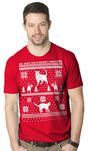 Cat T Shirt Ugly Christmas Sweater Shirt