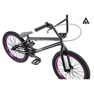 Amber Fathom Matte Black w/ Purple BMX Bike