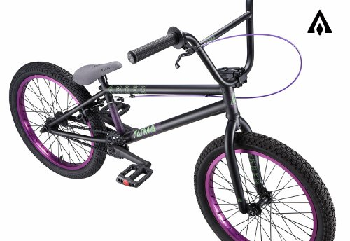 Amber Fathom Matte Black w/ Purple BMX Bike
