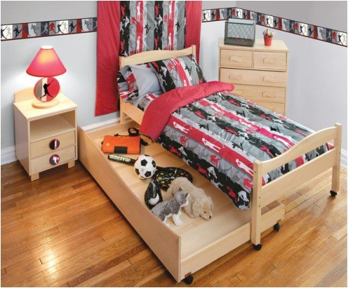 Action Sports Wooden Children's Headboard