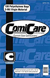 ComiCare Current Comic Book Polyethylene Bags 6-7/8\