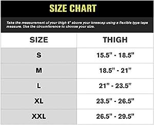 DonJoy Knee Brace Undersleeve, Closed Patella, X-Large (Color: Black, Tamaño: X-Large)