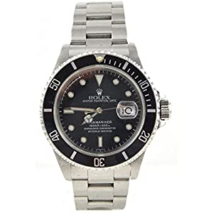 Rolex Watches Pre-Owned Gents Rolex Submariner 16800 (1986)