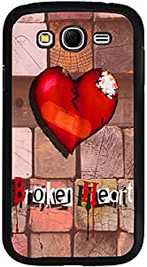 Printvisa Case Cover for Samsung Galaxy Grand Neo (D7866, Love Broken Heart)