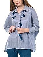 IRONI Camisa Mujer (Azul)