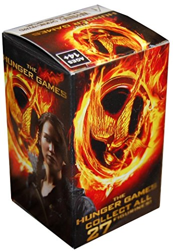 The Hunger Games WizK!ds Collectible Figures Gravity Feed Booster Blind Box (Random Figure Collect all 27!) 2 Inch Figur - 1