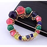 New Coming Fashion Multicolour Beads Elastic Bracelet Bracelets Bangles For Women Jewelry For Girls Ladies By...