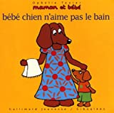 Bb chien n'aime pas le bain
