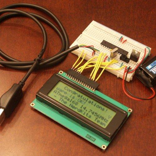 NerdKits USB Microcontroller Electronics Starter Kit