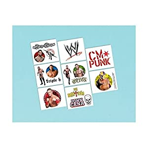 WWE Wrestling Tattoos 16ct [Toy] [Toy]