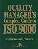img - for Quality Manager's Complete Guide to Iso 9000 book / textbook / text book