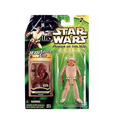 Star Wars: Power of the Jedi Mon Calamari Officer Action Figure