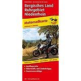Motorradkarte Bergisches Land - Ruhrgebiet - Niederrhein: Mit Ausflugszielen, Einkehr- & Freizeittipps und Tourenvorschlägen, wetterfest, reissfest, abwischbar, GPS-genau. 1:200000