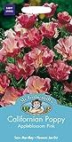 MFFL 英国ミスターフォザーギルズシード Californian Poppy(Eschscholzia) Appleblossom カリフォルニア・ポピー(エスコルシア)・アップルブロッサム・ピンク