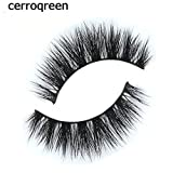 False Eyelashes -2 Style 2 Pair Package-Cerro Qreen Natural False Eye Lashes