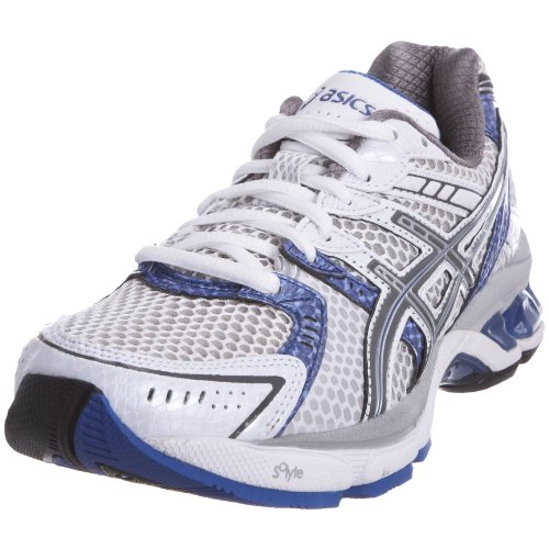 ASICS Women's Gel 3020 W White/Titanium/Blue Iris Trainer T099N0197 4 UK