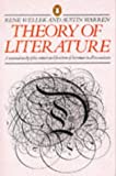 Theory of Literature (014017219X) by Wellek, Rene