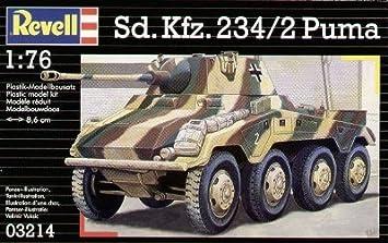 Revell - Maquette - Sd.Kfz. 234/2 Puma  - Echelle 1:76