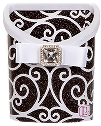 LockerLookz Locker Bin - Black and White Scroll - 1 piece - 1