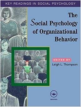 The social psychology of organizations