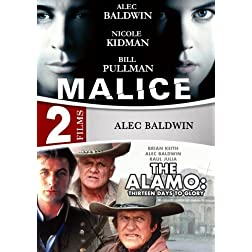 Alamo: Thirteen Days To Glory / Malice - 2 DVD Set  (Amazon.com Exclusive)