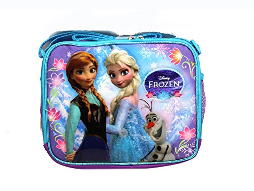 Purple and Blue Sisters Stick Together Disney Frozen Lunch Bag - 1