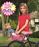 Doll Bicycle Seat - Ride Along Dolly Bike Seat with Decorate Yourself Decals (Fits 18 American Girl and Standard Sized Dolls and Stuffed Animals)